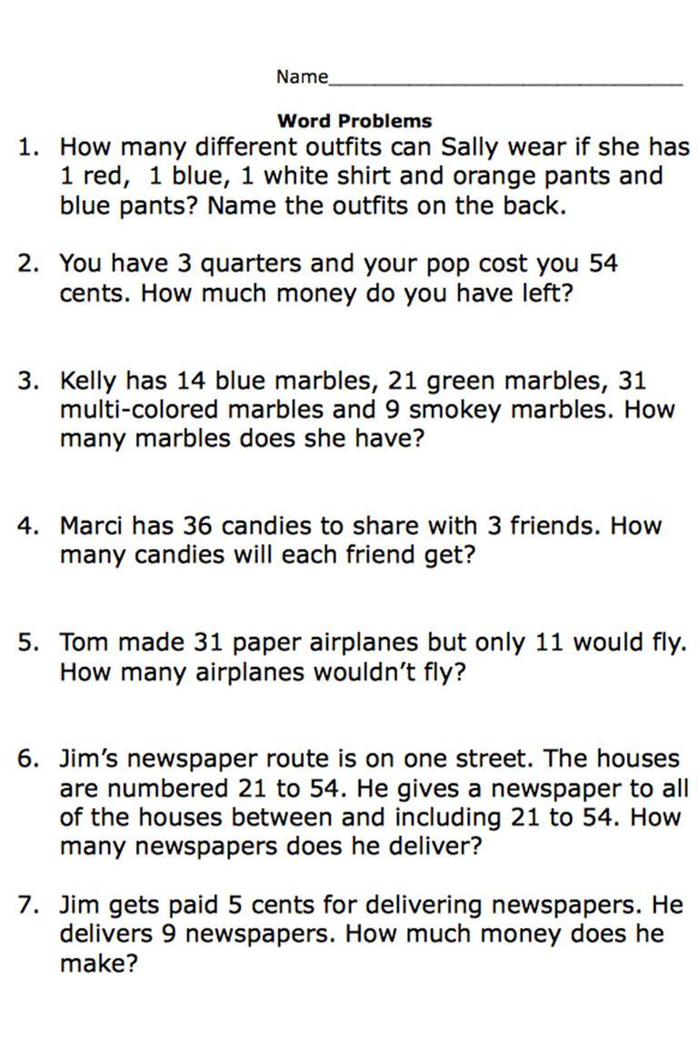 5th Grade Hard Math Problems