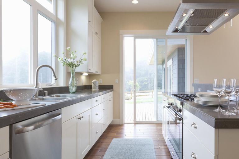 Narrow L Shaped Kitchen Design