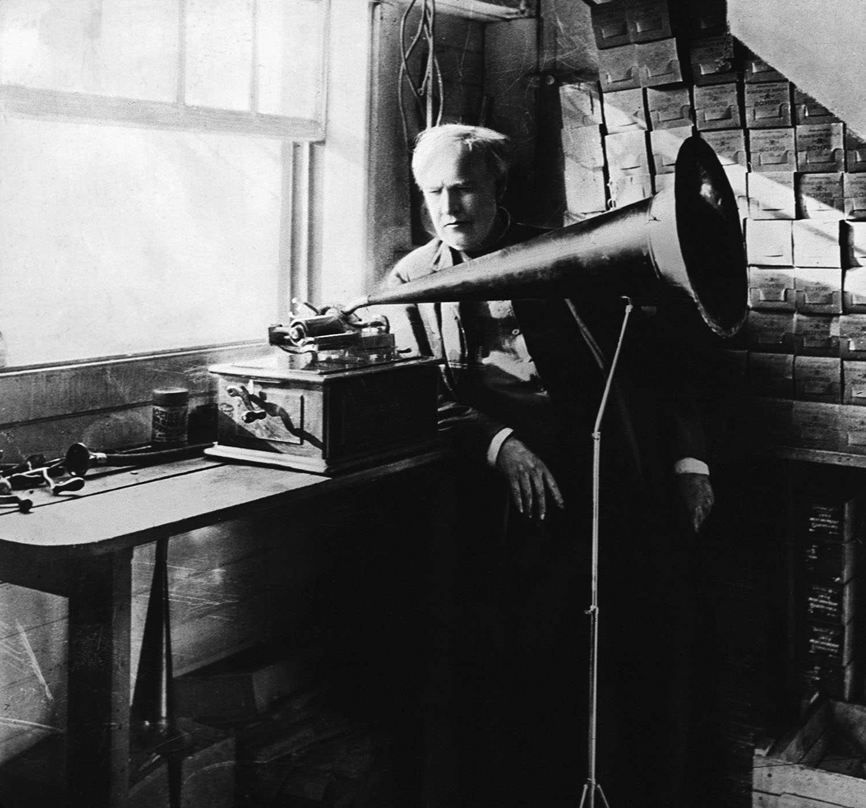 Thomas Alva Edison Light Bulb
