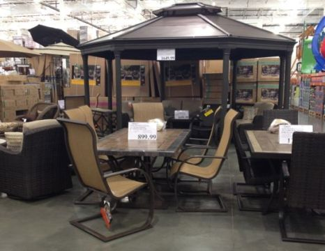 What Can You Find at Costco  March 2014  Patio furniture is now in stock at Costco