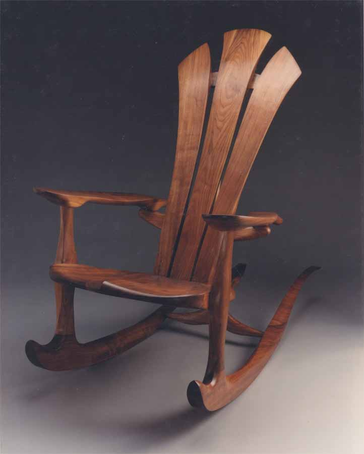Half Moon Rocking Chair