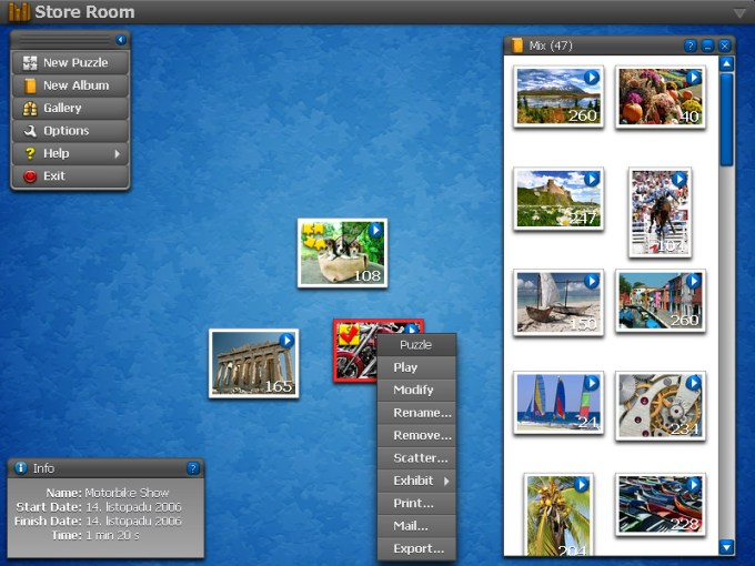 Jigs w Puzzle 2   the best jigsaw puzzle game for Windows Screenshots