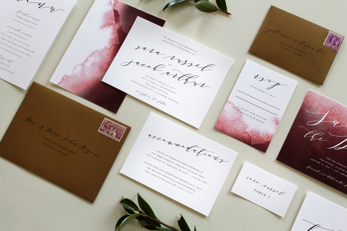 Make Own Wedding Invitations