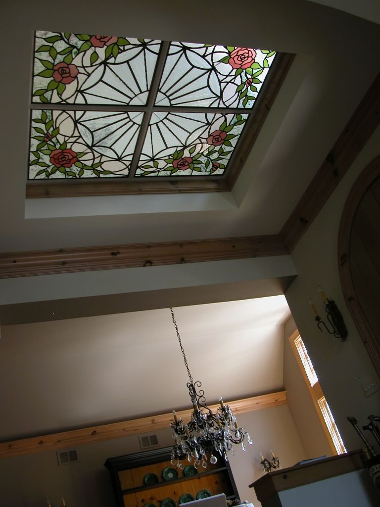 Tiffany Stained Glass Ltd Custom Dome Ceilings And
