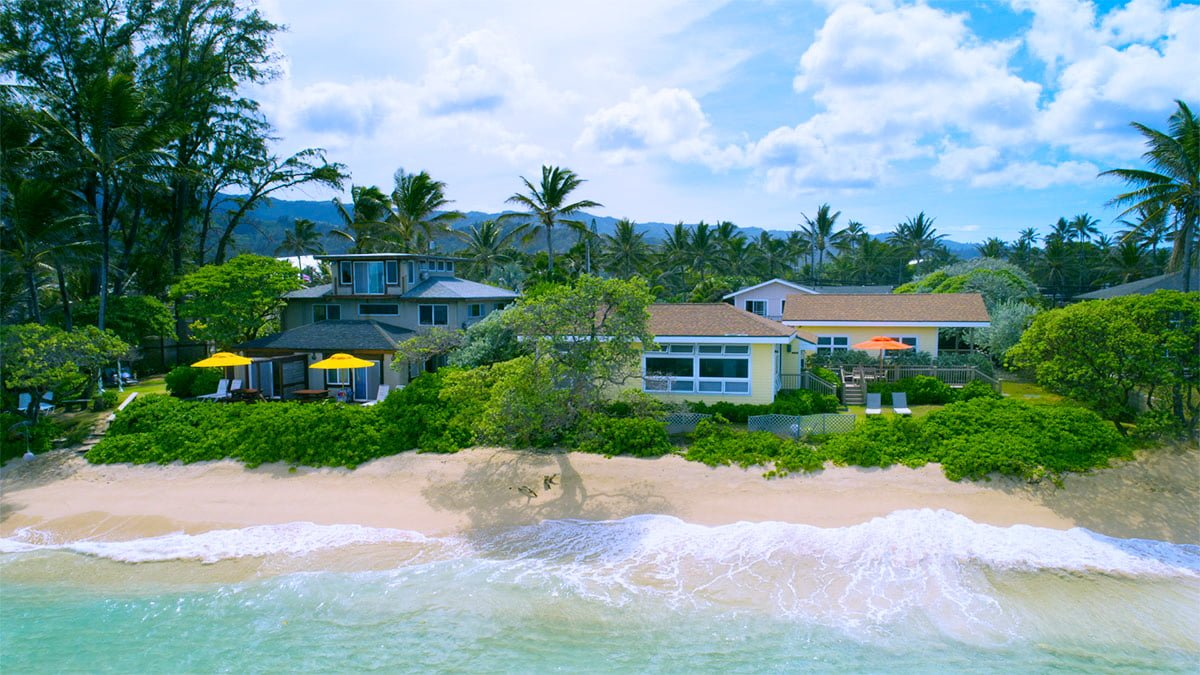 Tiki Moon Villas on the oceanfront