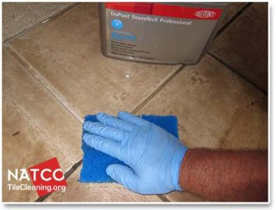 Cleaning Ceramic Tile Floors and Grout cleaning ceramic tiles with alkaline cleaner
