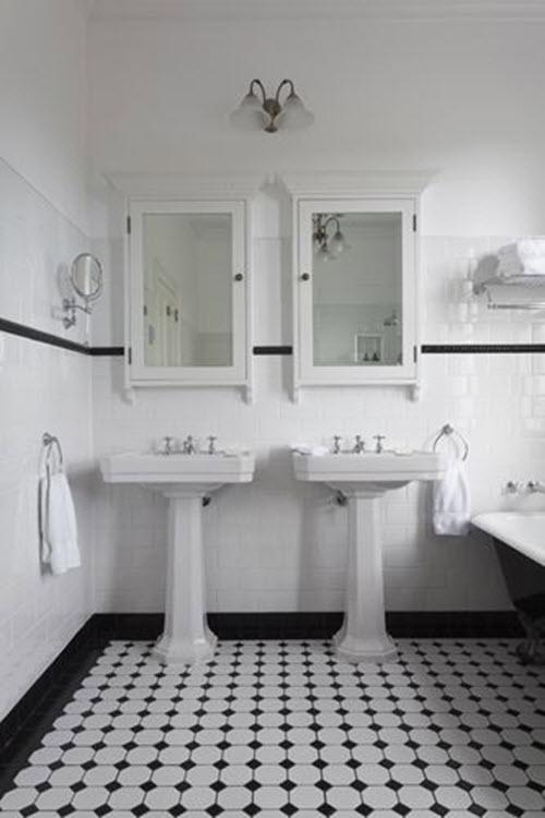 Bathroom Decor 1920s