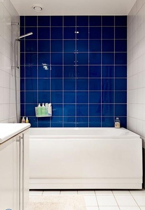 Light Blue And Gray Bathroom