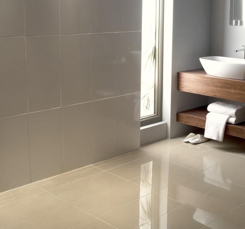 29 Ideas On Using Polished Porcelain Tile For Bathroom