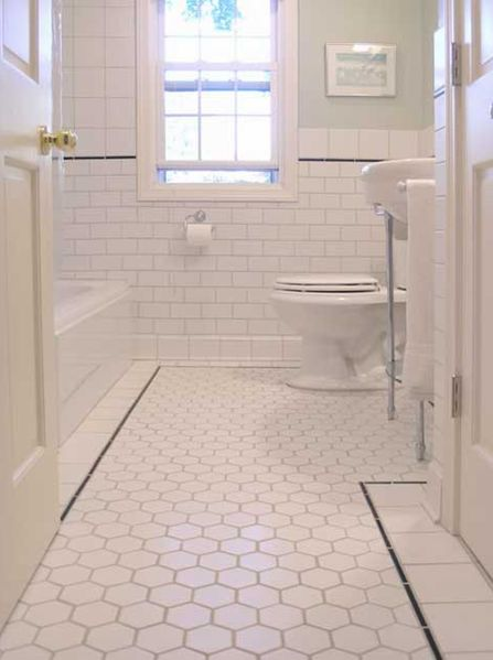 36 nice ideas and pictures of vintage bathroom tile design ideas     interior ideas bathroom elegant white tile ceramic combined