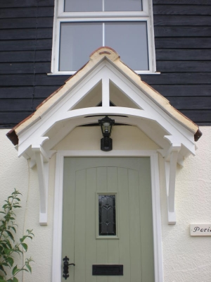 Timber Door Canopies And Canopy Products