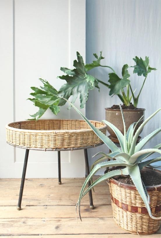Tall Rectangular Planter