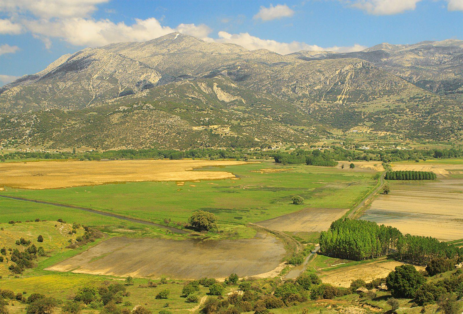 Land Greece Farm Ancient