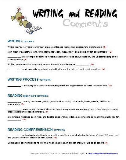 3 Writing Samples K Students