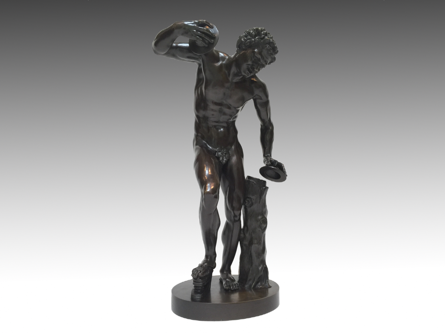 The Uffizi Dancing Faun Cast By Duchemin