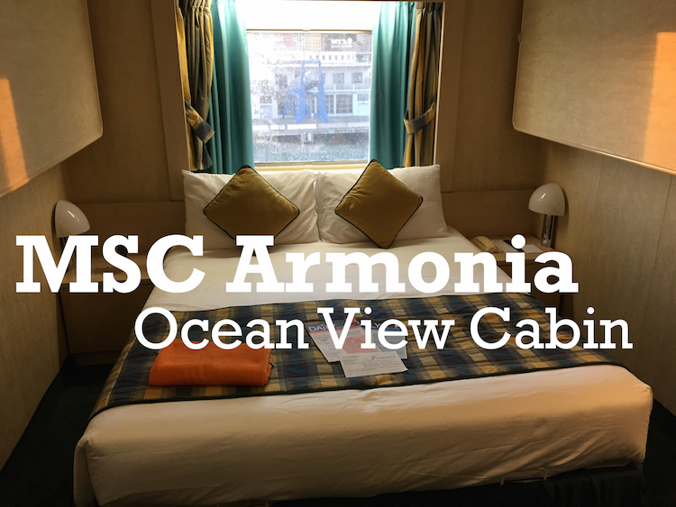 My Msc Armonia Ocean View Cabin Video Tour And Review