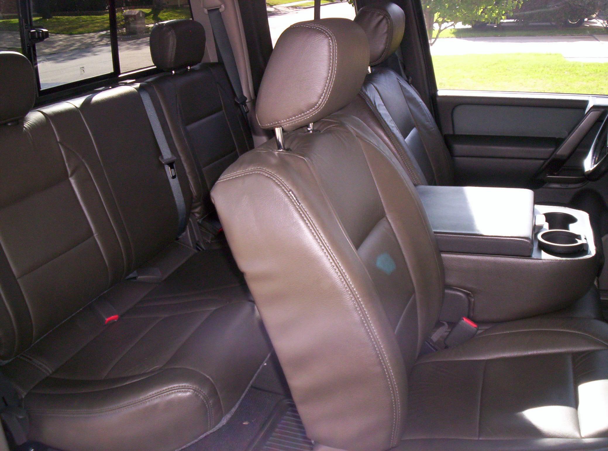 Katzkin Leather Interior Nissan Titan Forum