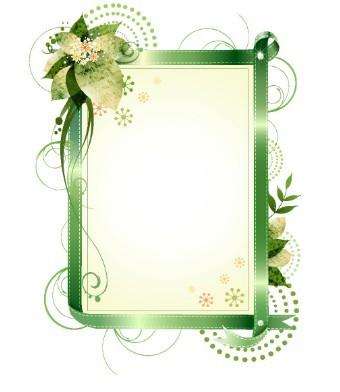 Free Set Of Vector Elegant Floral Borders & Frames - TitanUI
