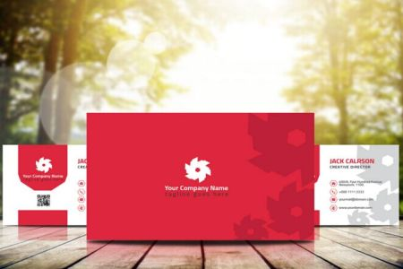 Free Professional Business Card Template  AI PSD    TitanUI Professional Business Card Template  AI PSD