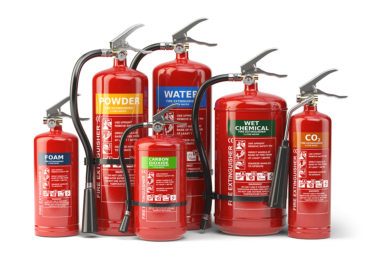 Fire Extinguisher Service | TM Services - Fire ...