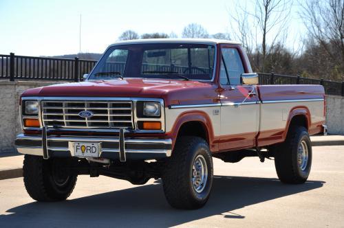 F Ford Colors 1985 Original 150