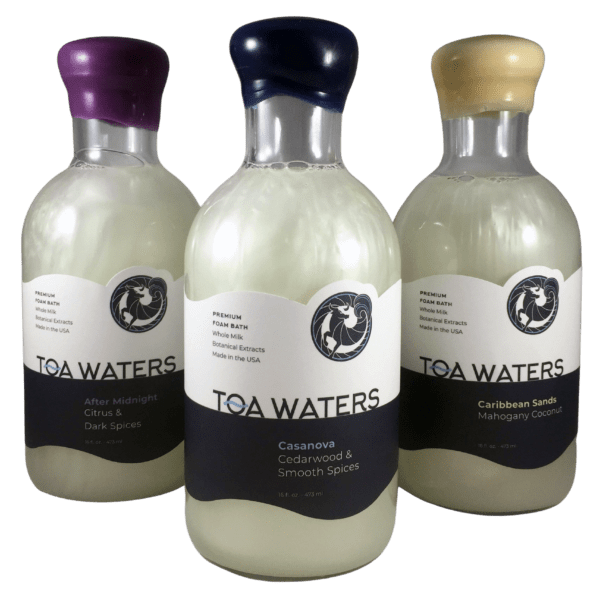 TOA Waters Premium Bubble Bath: Three pack series