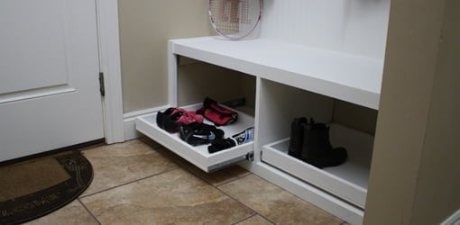 How To Make A Drop Zone Storage Bench Today S Homeowner