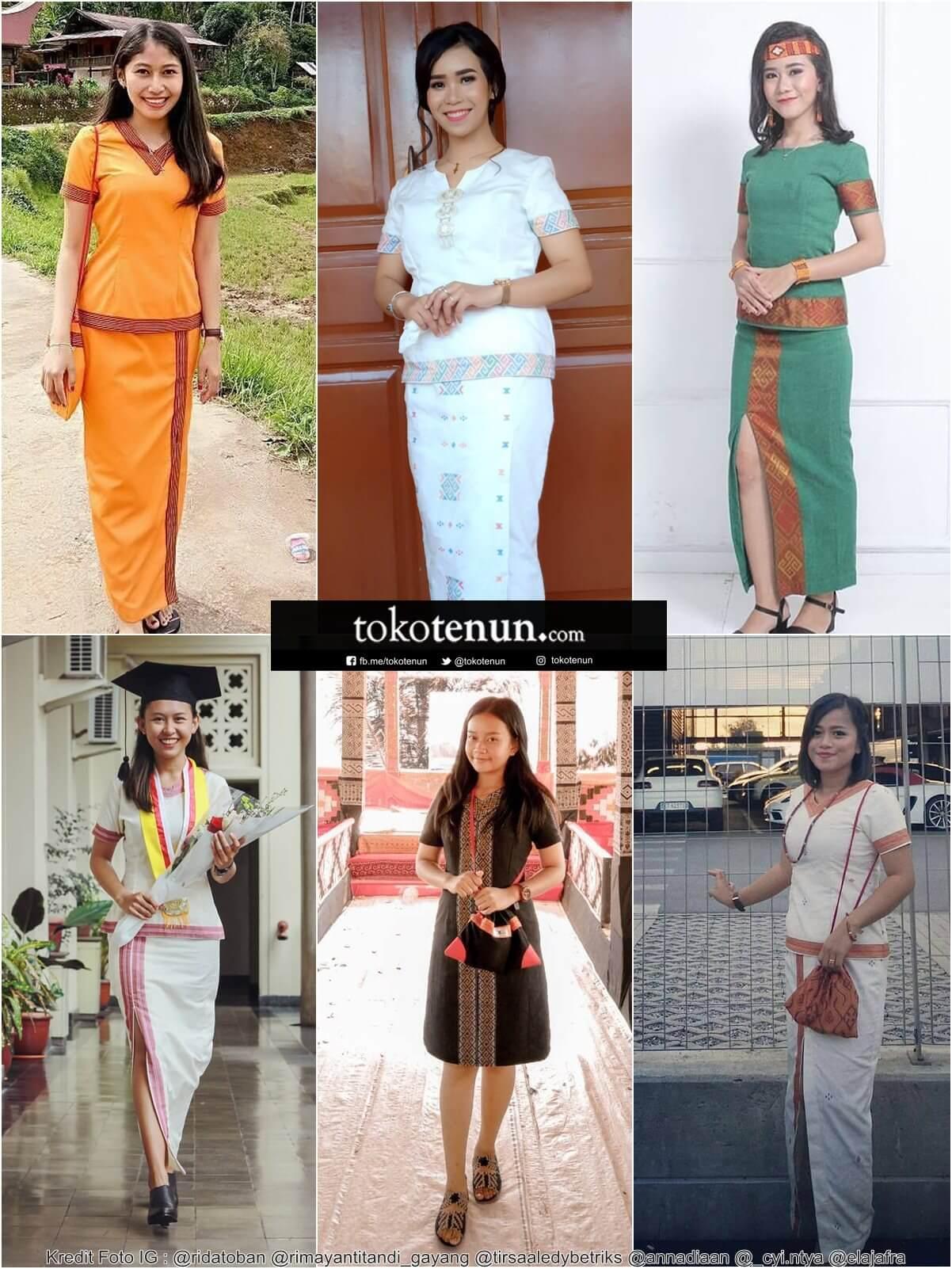 30+ Model Baju Endek Wanita 2020 - Fashion Modern dan ...