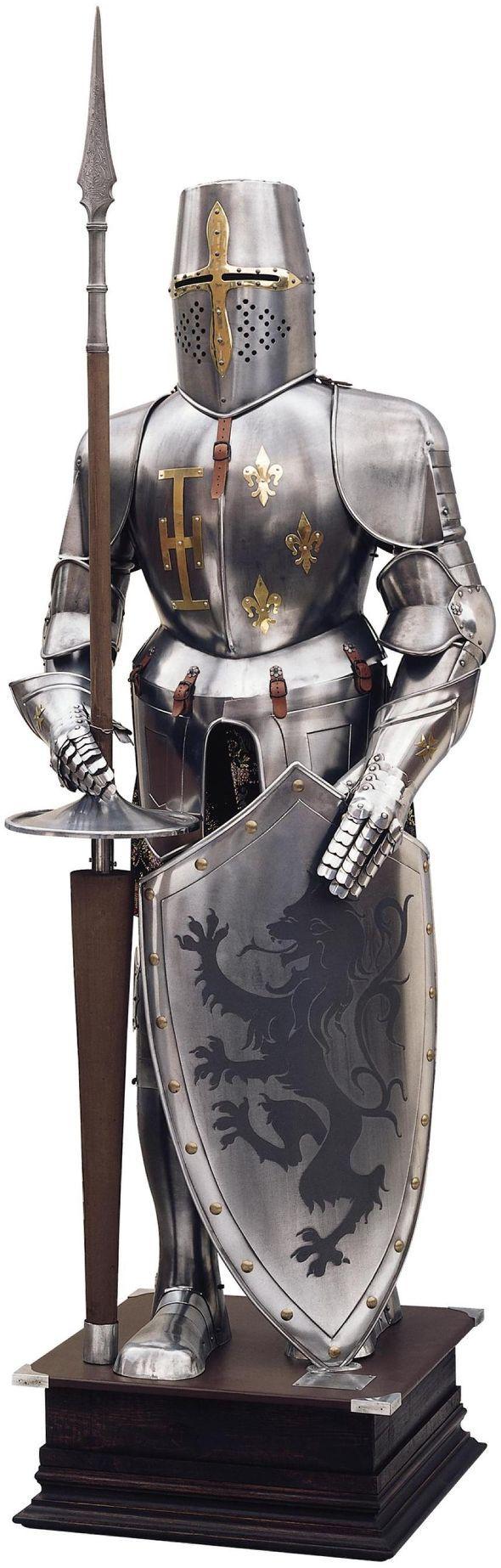 Toledo Swords Medieval Suit of Armor - Fine Quality ...