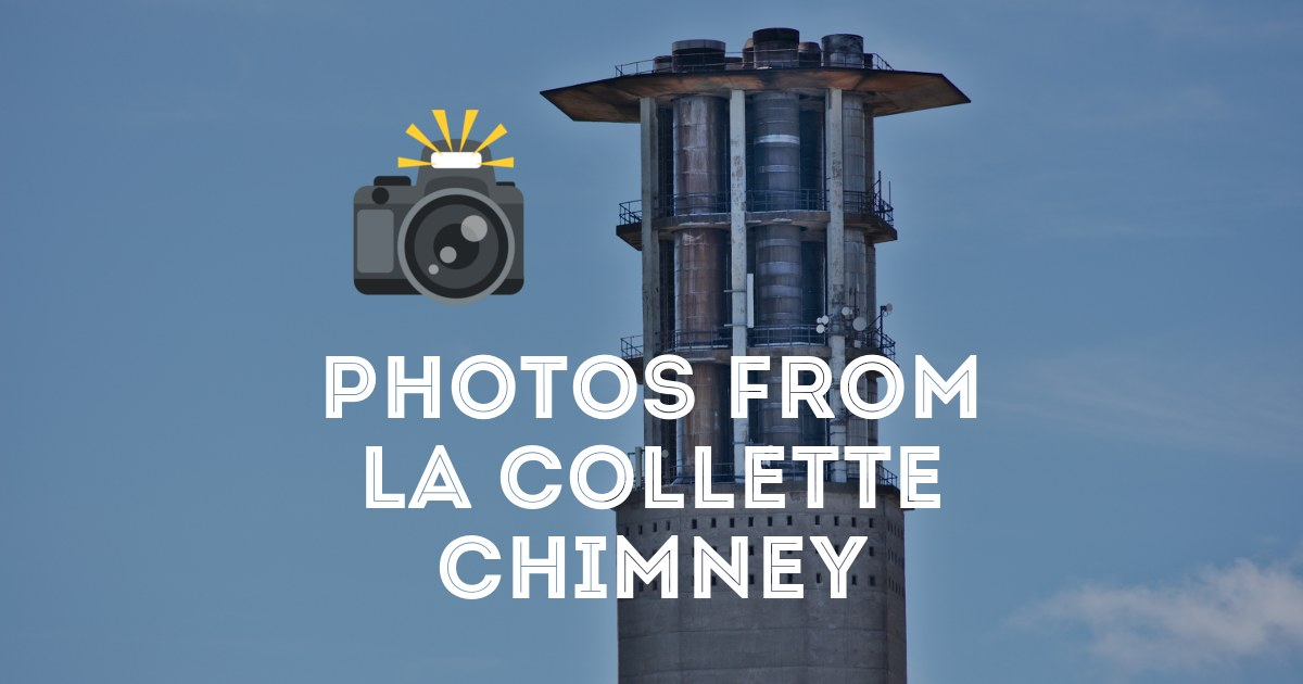 Photos From The Top Of La Collette Chimney Tom Brossman