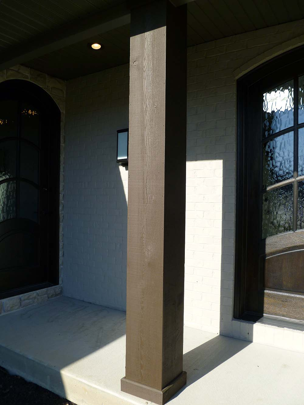 Columns Exterior Custom Homes By Tompkins Construction