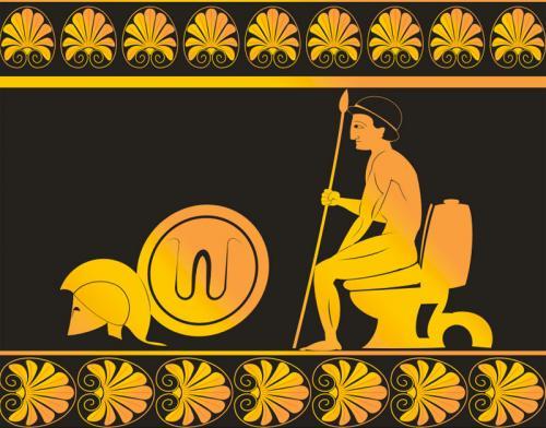 Greek Technology By Tinotoons Media Amp Culture Cartoon