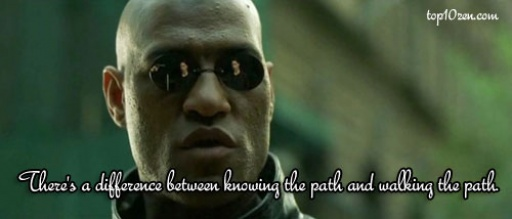 Top 10 Inspirational Movie Quotes   Top10Zen The Matrix