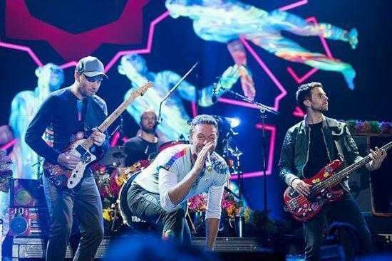 Coldplay Top2000 2017