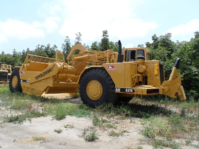Topolewski America Inc    Topcor   For Sale 1983 Caterpillar 637D
