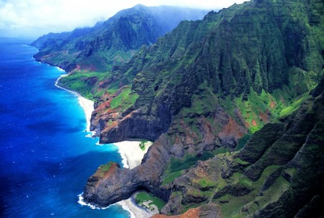 Beach Hawaii Flowers Tropical Sunset