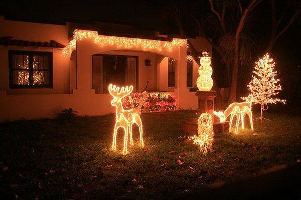 Shape Christmas Tree Lights