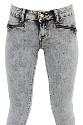 Jeans Skinny Girls Gray