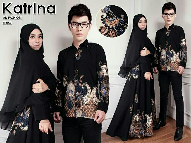 Model Baju Batik Gaun Couple 11