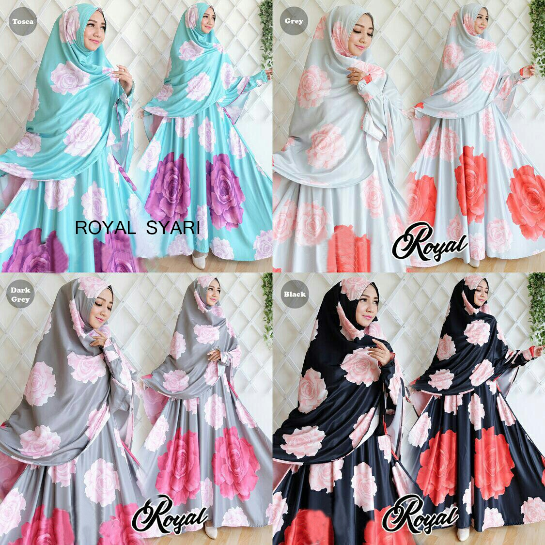 Image Result For Model Gamis Terbaru Motif Bunga