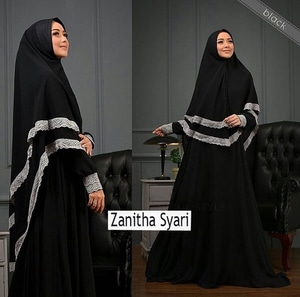 Model Baju Renda Abaya 29