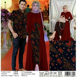 Model Baju Couple Tunik 20
