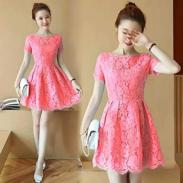 Model Baju Dress Pendek 10