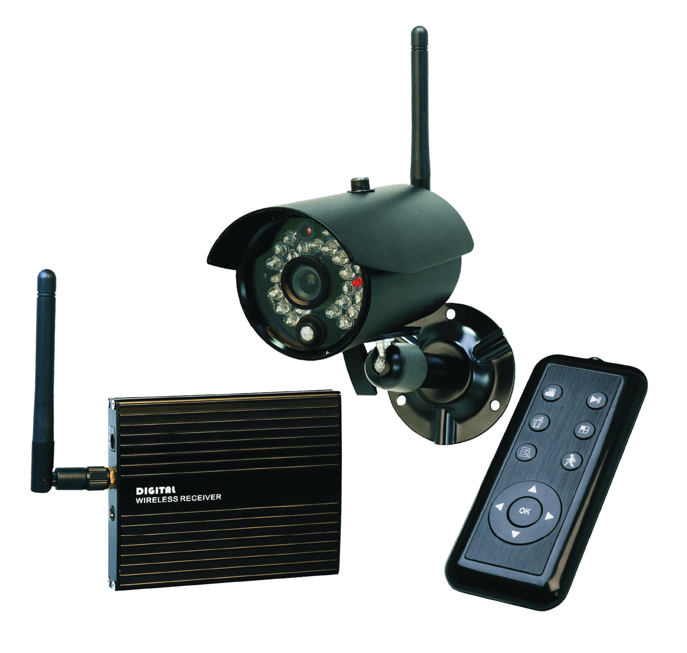 Remote Security System Camera Wireless