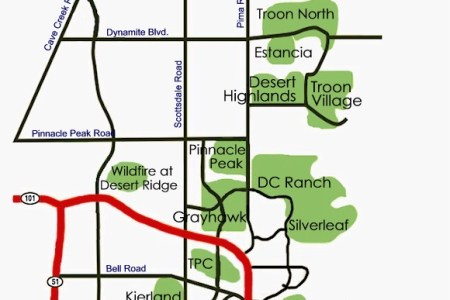 scottsdale area road map » ..:: Edi Maps ::.. | Full HD Maps