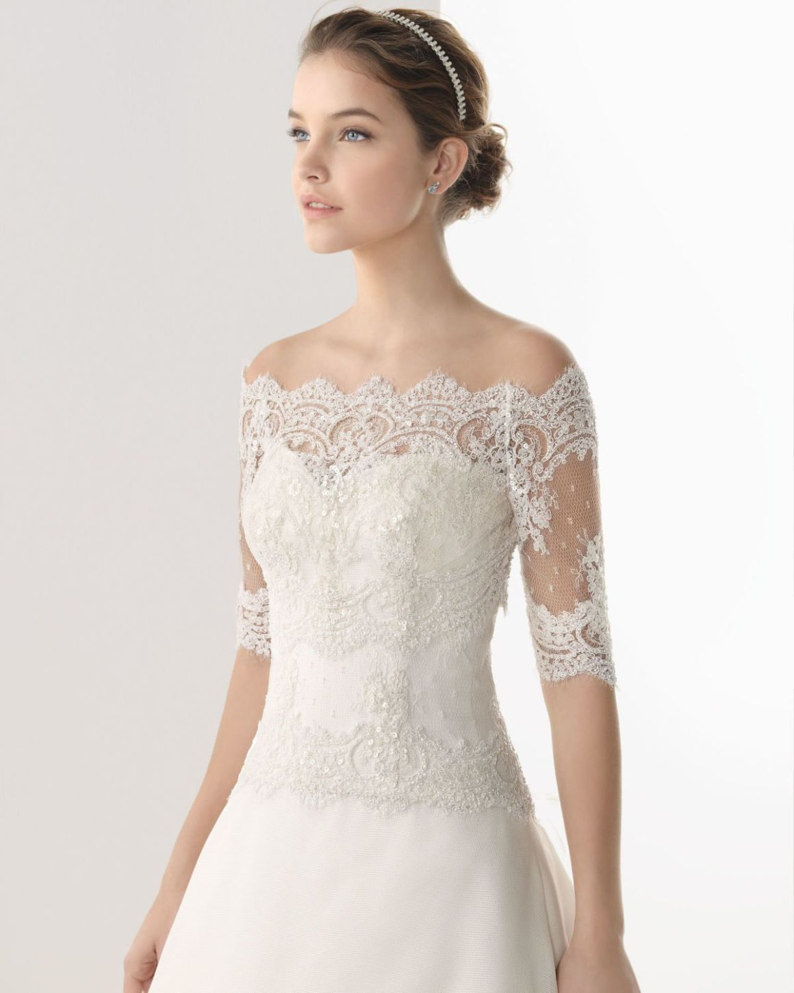 Lace Bridal Shower Dress