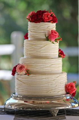 Simple Doesn t Mean Boring  These Elegant Wedding Cakes Prove Simple     wedding cakes picture