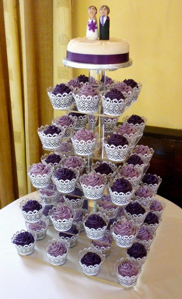 Rustic Cakes Wedding Cupcakes