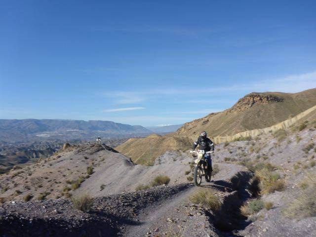 Enduro motorcycle holidays in Spain