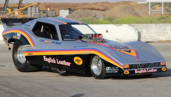 Tom Mongoose Mcewen S English Leather Corvette Funny Car